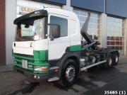 Scania P 114.380 6x4 Retarder Manual Full steel Сменный контейнер